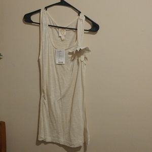 Anthropologie Tank Top with Flower